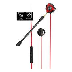 Energy Sistem Auriculares com microfone para Vídeojogos ESG-1 3.5 mm Preto Vermelho