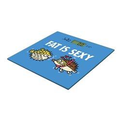 Bilancia Digitale da Bagno Fat Is Sexy JATA 294K Kukuxumusu 150 Kg