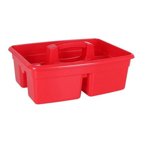 Cestino Multiuso Plastica Rosso 28 cm