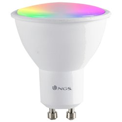 Lampadina Intelligente NGS Gleam510C RGB LED GU10 5W