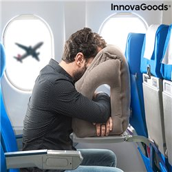Cuscino da Viaggio Gonfiabile Frontale Snoozy InnovaGoods