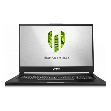 "Notebook MSI WS65 9TL-816ES 15,6"" i7-9750H 32 GB RAM 1 TB SSD Nero"