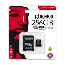 Scheda Di Memoria Micro SD con Adattatore Kingston SDCS2 100 MB/s 256 GB
