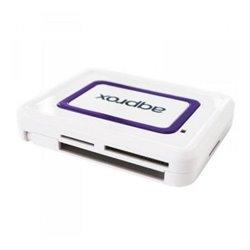 Lettore di Schede Esterno approx! APPCRDNIW USB 2.0 DNI Bianco