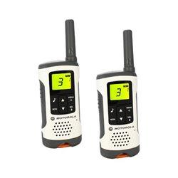 Walkie-Talkie Motorola T50 (2 Pcs) Bianco Grigio