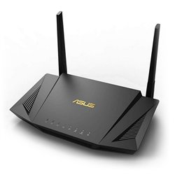 Router Senza Fili Asus RT-AX56U LAN WiFi 6 GHz 1800 Mbps Nero