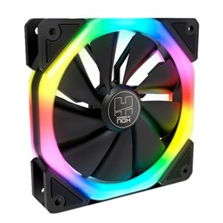 Ventilatore NOX Hummer S-FAN Ø 12 cm LED RGB