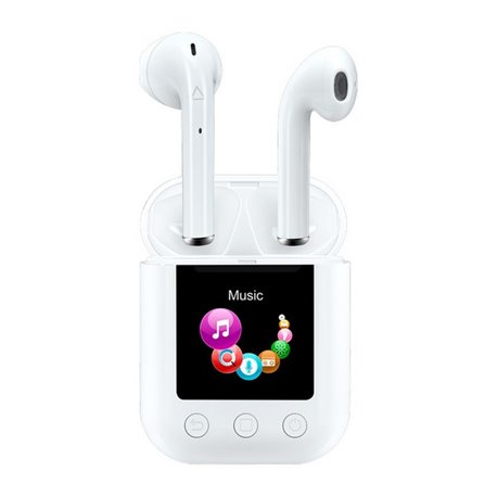 Auricolari Bluetooth Denver Electronics TWM-850 8 GB 700 mAh Bianco