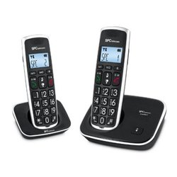 SPC 7609N Telf. DECT DUO Tast.Grd. AG20 ID LCD ECO
