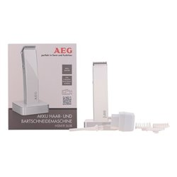 Hair Clippers Aeg 220-240 V White