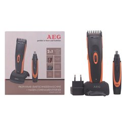 Hair Clippers Aeg 230 V Black