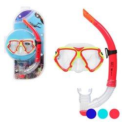 Occhialini da Snorkeling e Boccaglio Adulti 117560 Blu Marino