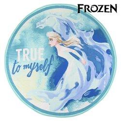 Telo da Mare Frozen 75506 Rotundă Azzurro