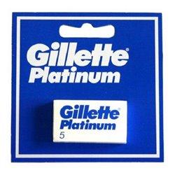 Lames de Rasoir de Rechange Platinum Gillette (5 uds)