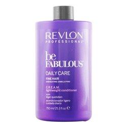 Après shampoing nutritif Be Fabulous Revlon (750 ml) Cheveux fins