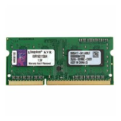 Memoria RAM Kingston IMEMD30096 KVR16S11S8/4 4 GB 1600 MHz DDR3-PC3-12800