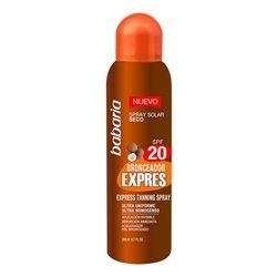 Spray Bronceador Express Babaria Spf 20 (200 ml)