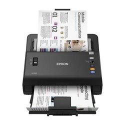 Scanner Fronte Retro Epson DS-860 300 dpi USB 2.0 Nero