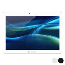 "Tablet Sunstech TAB1081 10,1"" Quad Core 2 GB RAM 32 GB Argentato"