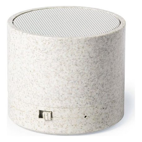 Altoparlante Bluetooth 3W 146540 Paglia di grano Abs Naturale