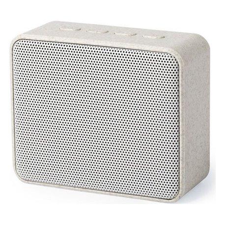 Altoparlante Bluetooth 3W 146541 Paglia di grano Abs Naturale