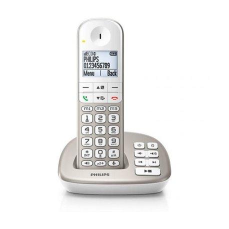 """Telefono Senza Fili Philips XL4951S/23 1,9"""" DECT Bianco"""