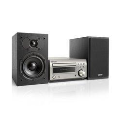 Impianto Stereo Denon D-M41 Bluetooth USB Nero Argento