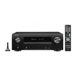 Recevitore AV Denon AVR-X1600H WiFi Bluetooth 80W Nero