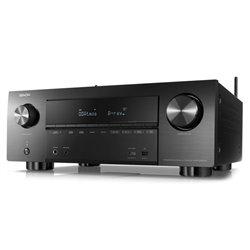 Recevitore AV Denon AVR-X2300H WiFi Bluetooth 105W Nero