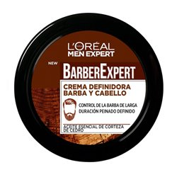 Crema Modellante per Barba Barber Club L'Oreal Make Up (75 ml)