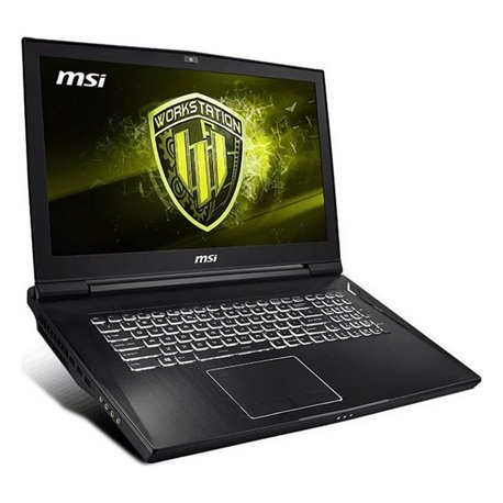"Notebook MSI WT75-097ES 17,3"" i7-9700K 64 GB RAM 1 TB SSD Nero"