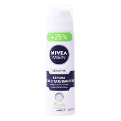 Schiuma da Barba Men Sensitive Nivea 250 ml