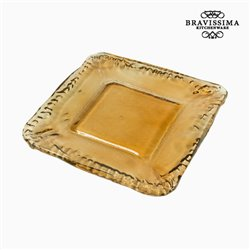 Piatto Decorativo Vetro riciclato - Crystal Colours Deco Collezione by Bravissima Kitchen