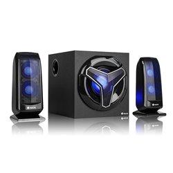 Altoparlanti per Giochi 2.1 NGS GSX-210 Bluetooth 80W Nero