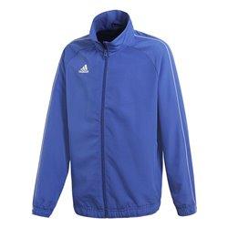 Giacca Sportiva da Bambini Adidas CORE18 PRE Azzurro 8 anni