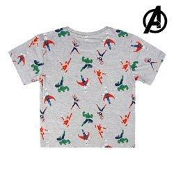 Maglia a Maniche Corte per Bambini The Avengers 73705 4 anni