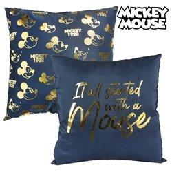 Cuscino Mickey Mouse 74511 Blu marino (40 X 40 cm)