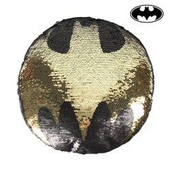 Cuscino Sirena Magica con Paillettes Batman 74489 Nero (30 X 30 cm)