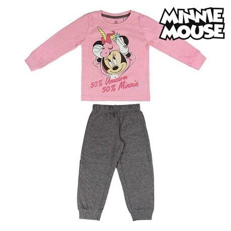 Pigiama Per bambini Minnie Mouse 74175 Rosa 5 anni