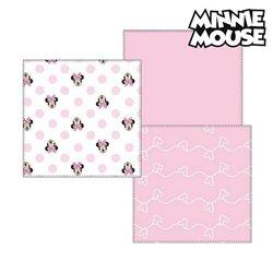 Asciugamano in Mussola Minnie Mouse 75402 Rosa (Pacco da 3)