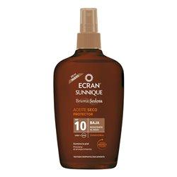 Olio Solare Sunnique Ecran SPF 10 (200 ml)