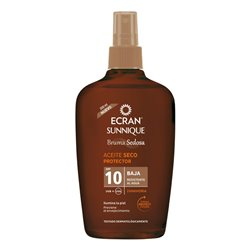 Sunscreen Oil Sunnique Ecran SPF 10 (200 ml)