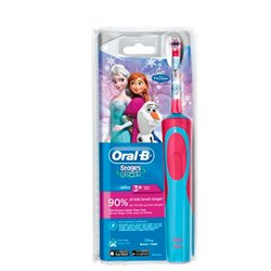 Oral-B 80268190 brosse à dents électrique Enfant Brosse à dents rotative oscillante Bleu, Rouge