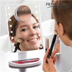 Primizima LED Magnifying Mirror for Putting on Make up
