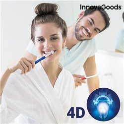 Spazzolino da Denti 4D InnovaGoods (Pacco da 2)