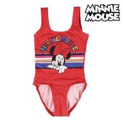 Costume da Bagno Bambina Minnie Mouse Rosso 4 anni