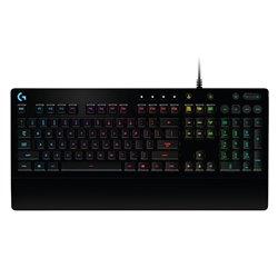 Tastiera per Giochi Logitech G213 USB 2.0 RGB Nero