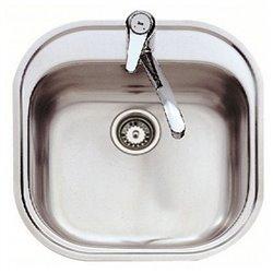 Lavello a Una Vasca Teka 7007 STYLO 1C Acciaio inossidabile