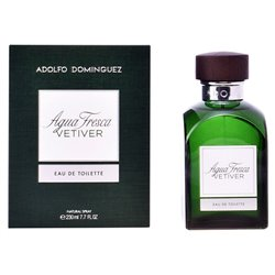 Adolfo Dominguez Men's Perfume Agua Fresca Vetiver EDT 120 ml