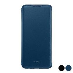 Custodia Folio per Cellulare Huawei P Smart Plus 2019 Wallet Nero